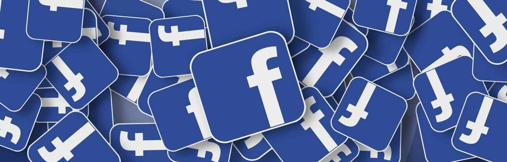 Facebook buttons with logo